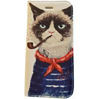 Mobile Today iPhone 6/6S hoesje met rokende kat