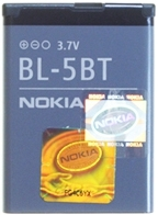 Nokia BL-5BT  Accu Li-Ion 870 mAh -