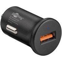 Goobay Quick Charge USB snellader 3A zwart