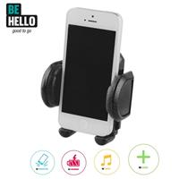 BeHello Universal Car Holder Airvent Rotative up to 5.5Inch Black - Be