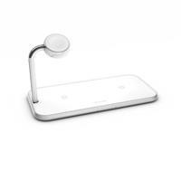 zens Dual + Watch Aluminium Wireless Charger