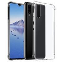 Krasbestendig Huawei P30 Hybrid Case - Kristalhelder