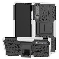 Anti-Slip Huawei P30 Hybrid Case - Wit / Zwart