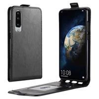 Huawei P30 Flip Hoesje met Creditcardvak - Zwart