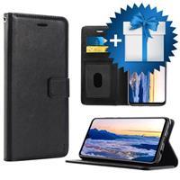 Saii Premium Huawei Mate 20 Portemonnee Hoesje - Zwart