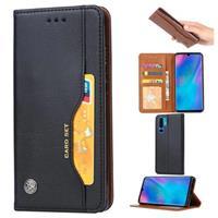 Card Set Huawei P30 Pro Wallet Case - Zwart