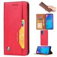 Card Set Huawei P30 Pro Wallet Case - Rood