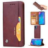 Card Set Huawei P30 Pro Wallet Case - Wijnrood