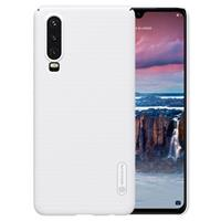 Nillkin Super Frosted Shield Huawei P30 Cover - Wit
