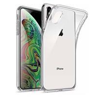 mobiq Transparant iPhone X/Xs Hoesje TPU