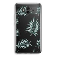 Huawei Mate 10 Transparant Hoesje (Soft) - Simple leaves