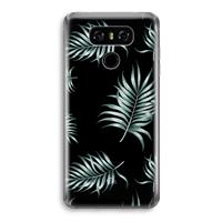 LG G6 Transparant Hoesje (Soft) - Simple leaves