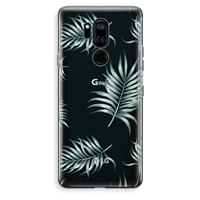 LG G7 Thinq Transparant Hoesje (Soft) - Simple leaves