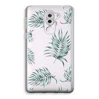 Honor 6X Transparant Hoesje (Soft) - Simple leaves