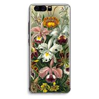Huawei P10 Transparant Hoesje (Soft) - Haeckel Orchidae