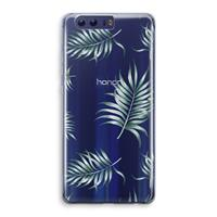 Honor 9 Transparant Hoesje (Soft) - Simple leaves