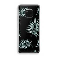Huawei Mate 20 Pro Transparant Hoesje (Soft) - Simple leaves