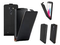 LG Leren flip case telefoonhoesje voor  G3 zwart