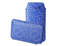 HTC One Bling Sleeve navy