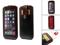 Huawei View Cover  Ascend y300 hoesje bruin