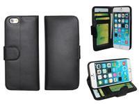 Apple Iphone 6 Book Wallet Case goedkoop zwart