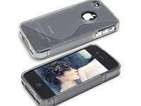 Apple Iphone 4s · Soft Skin Case · Siliconen Hoesje · Transparan transparant