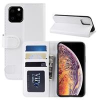 iPhone 11 Pro Max Portemonnee Hoesje met Magneetsluiting - Wit