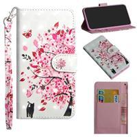 Wonder Series iPhone 12 mini Wallet Case - Bloeiende Boom