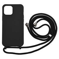 Necklace Series iPhone 12/12 Pro TPU Case - Zwart