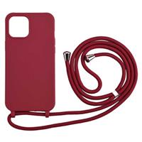 Necklace Series iPhone 12 Pro Max TPU Case - Rood
