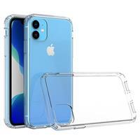 Krasbestendig iPhone 11 Hybrid Case - Doorzichtig