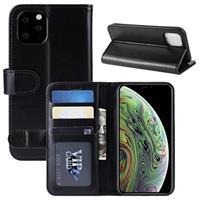 iPhone 11 Pro Portemonnee Hoesje met Standaard - Zwart