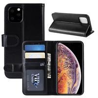 iPhone 11 Pro Max Portemonnee Hoesje met Magneetsluiting - Zwart