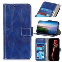 iPhone 12/12 Pro Portemonnee Hoesje met Magneetsluiting - Blauw