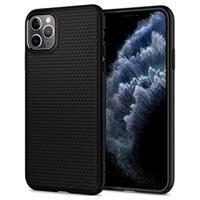 Spigen Liquid Air iPhone 11 Pro Max TPU Case - Zwart