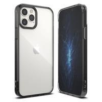 Ringke Fusion iPhone 12/12 Pro Hybrid Case - Zwart