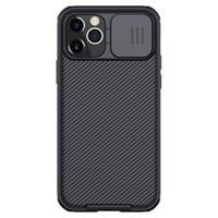 Nillkin CamShield iPhone 12/12 Pro Cover - Zwart