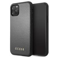 Guess Iridescent Collection iPhone 11 Pro Max Cover - Zwart