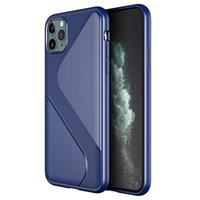 S-Shape iPhone 11 Pro TPU Hoesje - Blauw