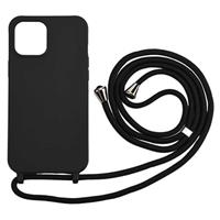 Necklace Series iPhone 12 Mini TPU Case - Zwart