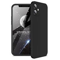 GKK Onzichtbare iPhone 12 Mini Cover - Zwart
