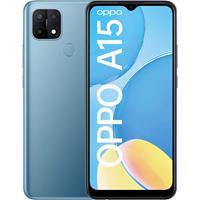OPPO smartphone A15 (Blauw)