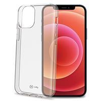 Celly Gelskin iPhone 12/12 Pro TPU Case - Doorzichtig