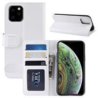 iPhone 11 Pro Portemonnee Hoesje met Standaard - Wit