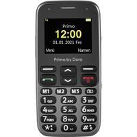 Primo by DORO 218 Senioren mobiele telefoon SOS-knop Zwart