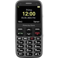 Primo by DORO 368 Senioren mobiele telefoon SOS-knop Graphite