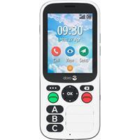 Primo by DORO 780X Senioren mobiele telefoon IP54, SOS-knop Zwart, Wit