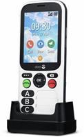 Primo by DORO 780X IUP Senioren mobiele telefoon IP54, SOS-knop Zwart, Wit