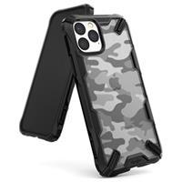 Ringke Fusion X Design iPhone 11 Pro Hybrid Case - Camouflage / Zwart