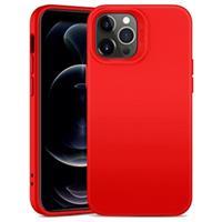 ESR Cloud iPhone 12 Pro Max Liquid Siliconen Hoesje - Rood